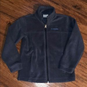 Boys Columbia navy blue jacket